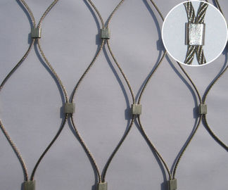 7*19 Stainless Steel Ferrule Anti-falling mesh For Shopping Market/Mall/Store