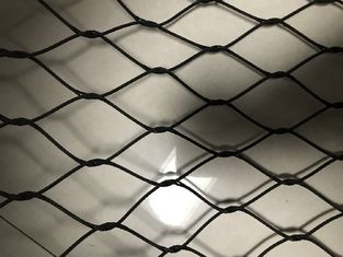 Animal Protect Stainless Steel Hand Woven Mesh 20mm - 200mm Aperture
